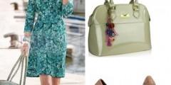 Sukienka w paisley – jesienna stylizacja