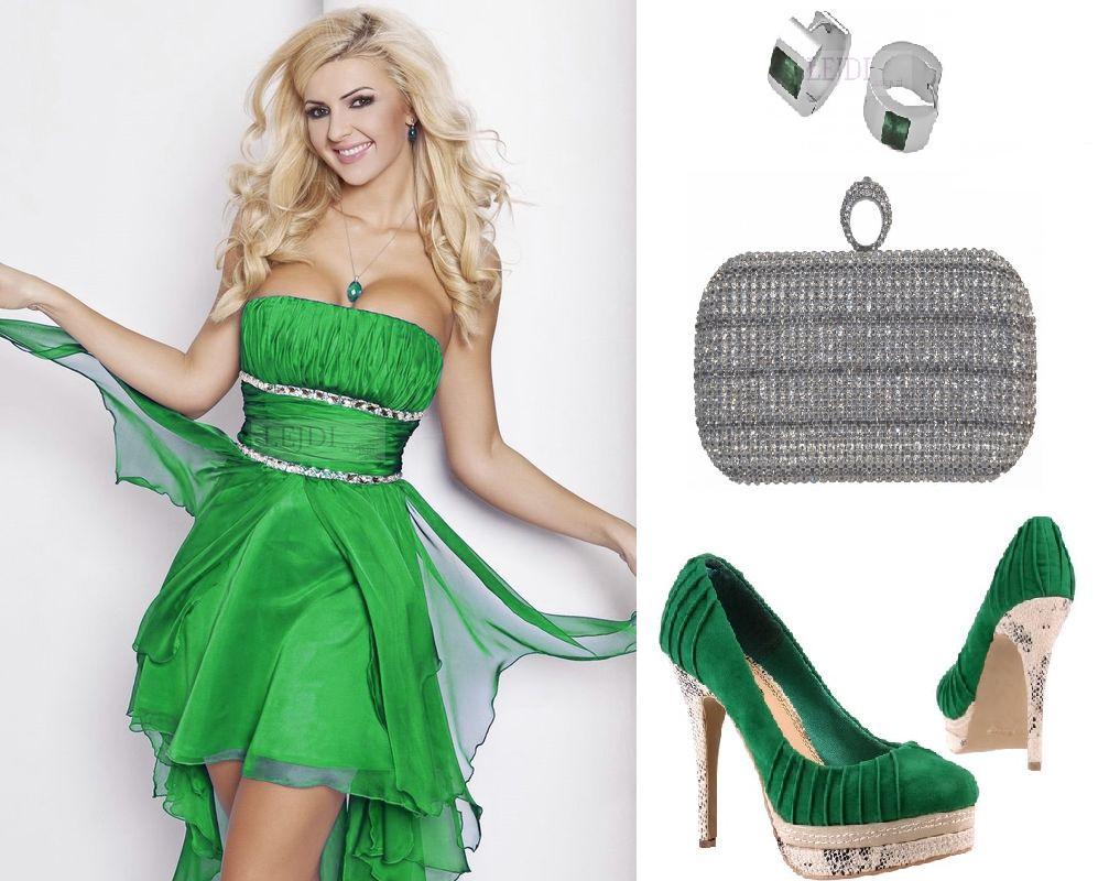 Zielone sukienki na bal