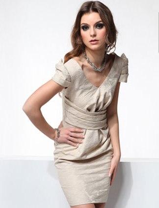 sukienka z żakardu