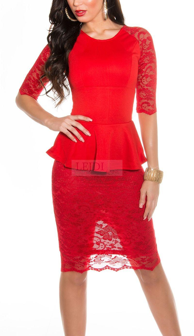 Czerwone sukienki | czerwona sukienka na Andrzejki, randkę i wesele
