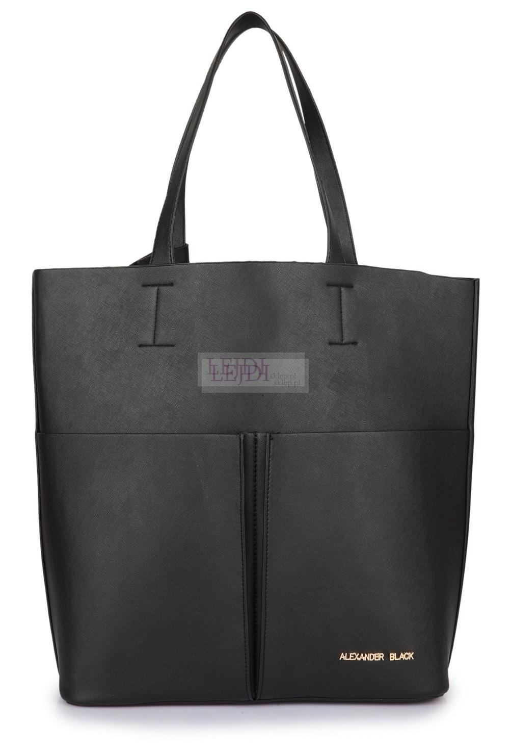 Duża torebka typu shopper