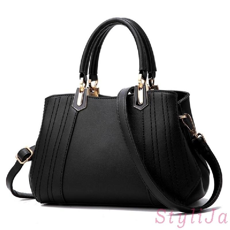 Czarna elegancka torebka do pracy